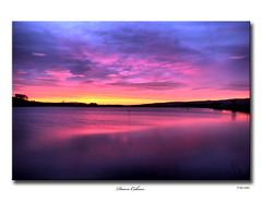 Dawn Colours ! (SteveMG) Tags: longexposure lake landscape yorkshire reservoir smg tarn picturesque skipton yorkshiredales 10mm embsay mirrorser