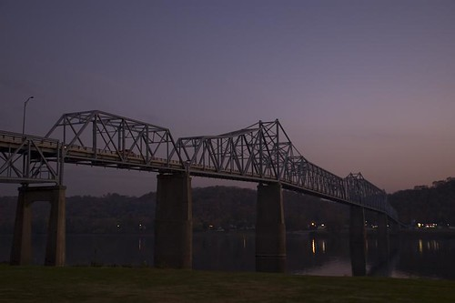 Milton-Madison Bridge, US 421, Madison, Indiana