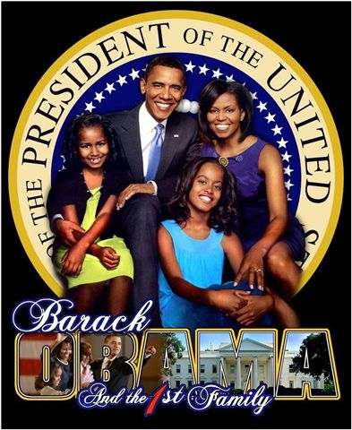 President Elect Barack Obama and the 1st Family