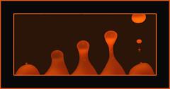 Lava Lamp Progression (de3euk) Tags: orange lamp lava 5 drop blob etsy lavalamp canoneos300d progression catchycolorsorange canoneosdigitalrebel ddd3 dolledokadonderdag dedokacompetitie