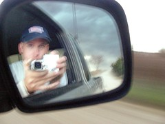 Camera man (john4kc) Tags: camera storm me ks adventure chase kansas passenger rearview chasing thunderstorms stormchaselivecom