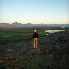 OS07 (peterbaker) Tags: lake iceland honeymoon hill michelle stykkisholmur