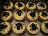 Halloween cupcakes - Spiders