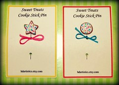 Cookie pins