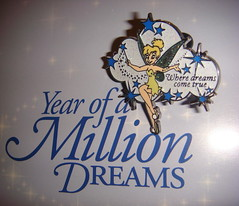 Tink -YOMD (partyhare) Tags: castle pin tinkerbell disney disneyworld wdw waltdisneyworld pintrading disneypin wheredreamscometrue disneypins yomd yearofamillionsdreams