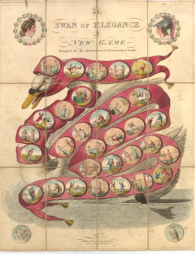 The Swan of Elegance - A New Game Designed for the Instruction and Amuseument of Youth (1814)