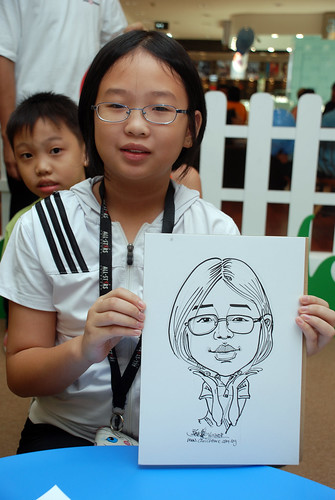 caricature live sketching for West Coast Plaza day 2 - 35