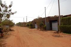 Die Straße vor unserem Zivi-Haus