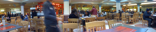 Montgomery Mall Food Court - Taken With An iPhone