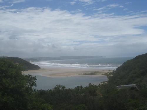 Chiantsa beach and lagoon