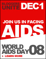 Bloggers unite against AIDS