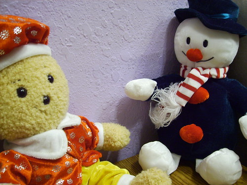 Christmas Decorations- Gingerbreadman and Snowman