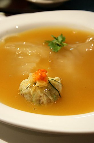Superior Shark's Fin Soup with Conpoy