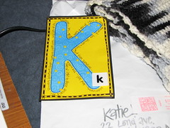 K - Made by Abby!