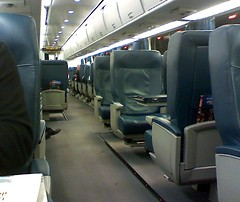 Acela Express (Dan_DC) Tags: train vanishingpoint amtrak seats firstclass acela acelaexpress railtravel intercityrail