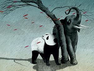 经济危机将严重影响中国和印度