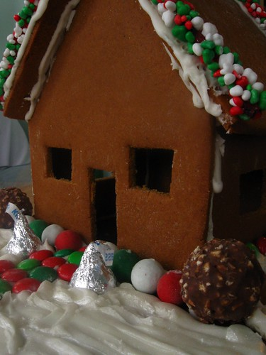 House made of Ginger and Bread