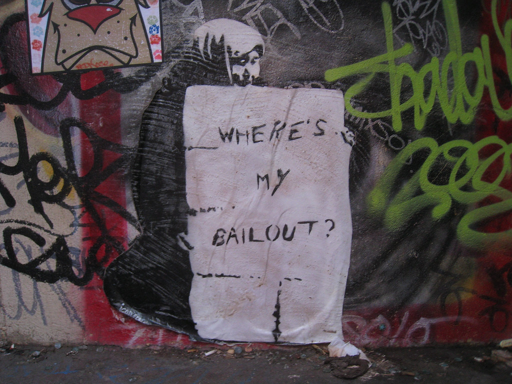 Poop on your bailout!