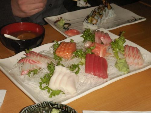 sashimi from Yamada, Rutherford, NJ