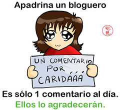 Apadrina un bloguero