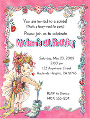 Fancy Nancy Birthday (Kid's Birthday Parties) Tags: fancynancy fancynancybirthday fancynancyparty birthday party invitation theme girl purple tiaras pink dressup girly partytheme personalizedinvitation custominvitation partysupplies