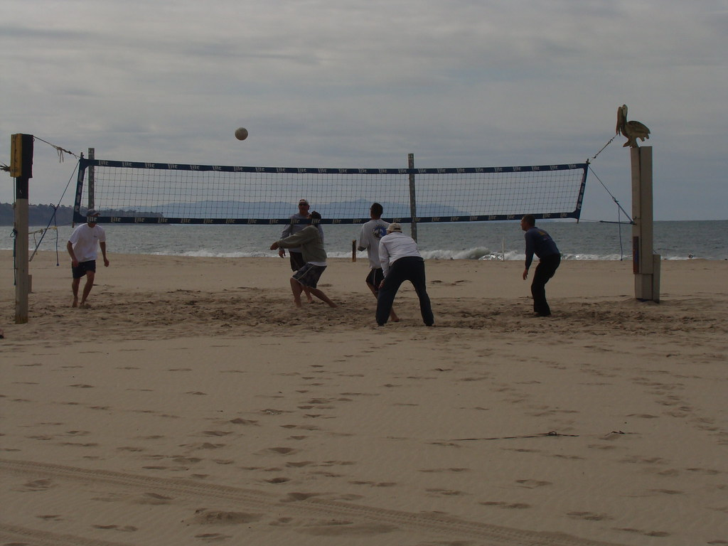 Sand Volleyball on Hermosa Beach 1