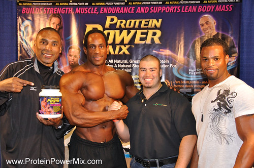 Protein PowerMix debuts at Europa Show of Champions