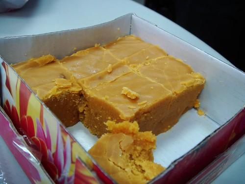 芒果口味甜糕