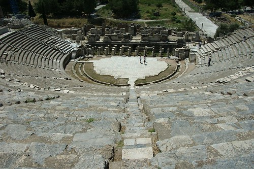 Ephesus, Turkey.  the coliseum