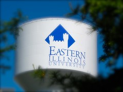 Water Tower @ EIU (stevedpeternell) Tags: illinois university watertower eastern eiu