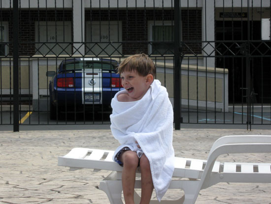 Nephew in a Towel (Click to enlarge)