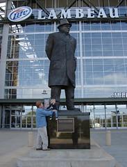 Ben & Vince Lombardi Statue