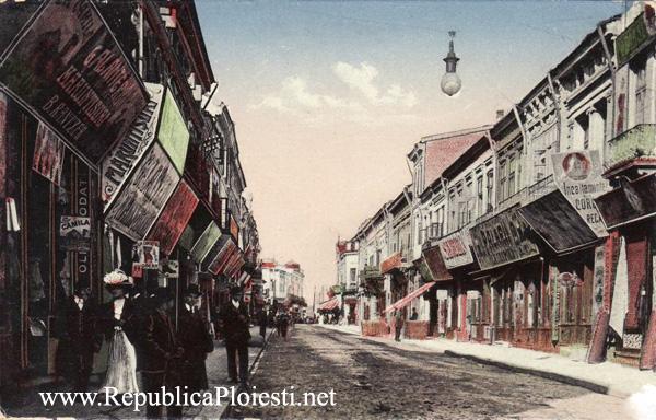 Strada Lipscani - 1918