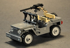 Rosie (The Ranger of Awesomeness) Tags: lego wwii moc brickarms