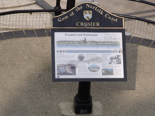 The sea and beach at Cromer - The Gem of the Norfolk Coast - Cromer - Prospect and Promenade - sign