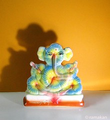 Ganesha 357 (ramakan) Tags: inspiration feast ceramic ganesha eyes c group lord 365 the pillayar porcelein vinayagar ganapathi