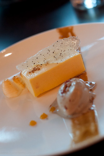 Dessert: Passion Fruit Parfait