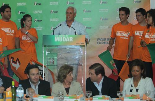 IPedro Passos Coelho Jantar em Barcelos