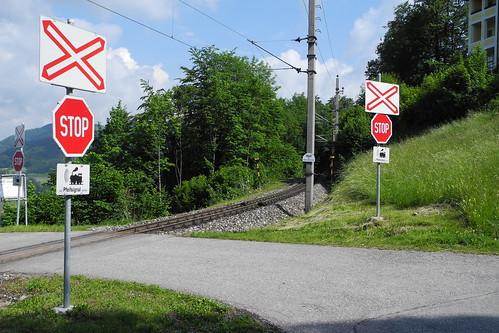 Bahnkreuzung - Mariazeller Bahn