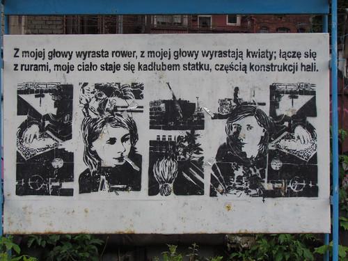 Political streetart