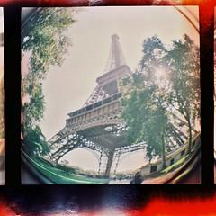 Eiffel (Uka wonderland) Tags: paris lomography eiffel dianaf