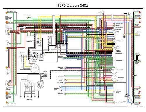 1970 datsun 240z wiring diagram a photo on flickriver rh flickriver com Viper Remote Start Wiring Diagram Wiring Harness Wiring-Diagram
