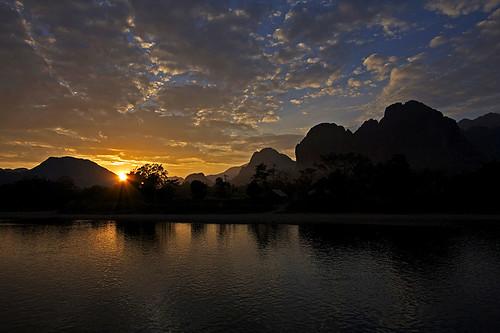 Magical Limestone Cliffs (Vang Vieng, Laos)