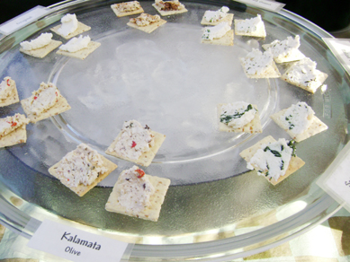 Rainbow Valley Farm cheese samples