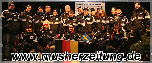 DSSV-Nationalkader ESDRA Schlittenhunde EM 2008 Schweden