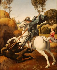 St. George and the Dragon, Raphael, c.1506, National Gallery of Art, Washington, D.C. (Ray .) Tags: washingtondc dragon raphael renaissance nationalgalleryofart renaissanceart blueribbonwinner stgeorgeandthedragon anawesomeshot impressedbeauty betterthangood stgeorgeandthedragonbyraphael exploremarch82008222