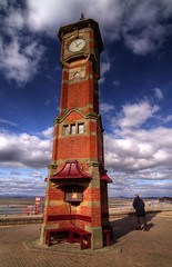 Morecambe Clock Tower (Bay Photographic) Tags: sea water bay seaside lancashire morecambe photofaceoffwinner bayphotographic pfosilver