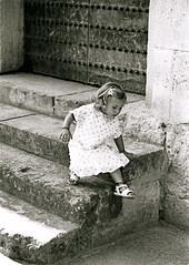 Viva l'Italia? (the bbp) Tags: bw kid italia child politics bn berlusconi electionday elezioni politica bambina veltroni politiche thebbp 13aprile2008