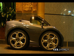 Mini Lamborghini Gallardo Spyder (celsydney) Tags: auto cars car speed photoshop marcel automobile small sydney australia mini automotive spyder exotic micro vehicle vermeer lamborghini spotting gallardo exotics carspotting gallardospyder marcelvermeer celsydney minisupercars