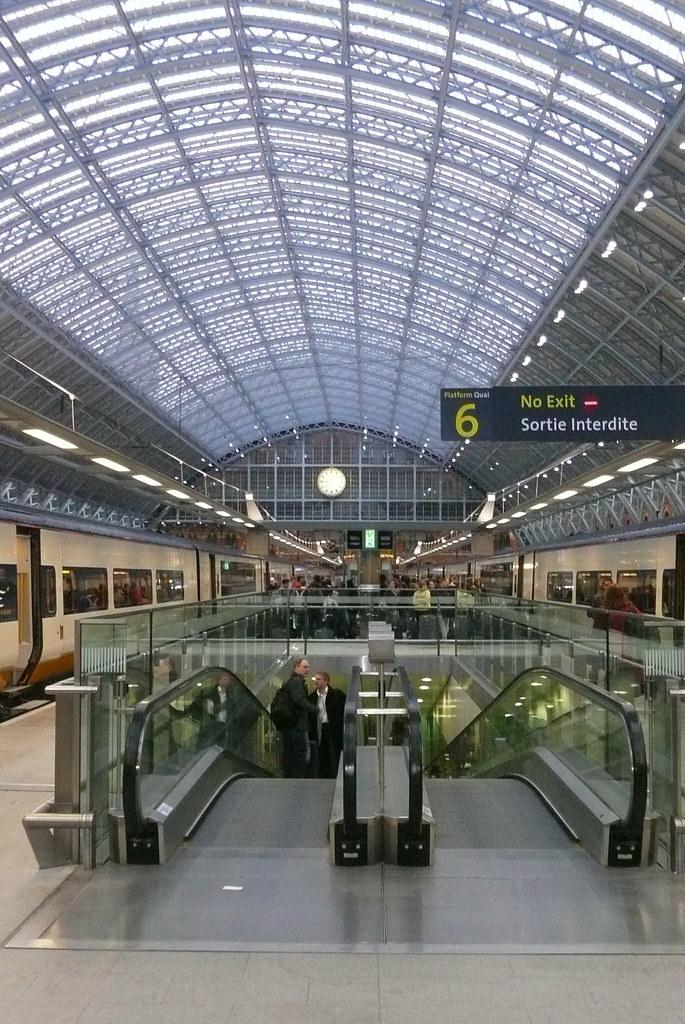 St Pancras Platforms
